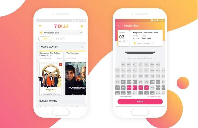 cara beli tiket bioskop dengan tix id