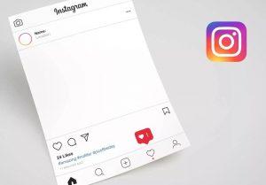 cara membuat template instagram