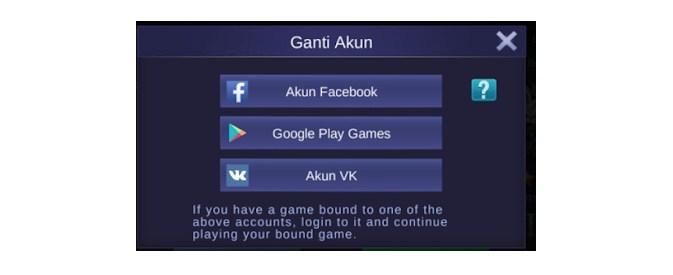 cara mengembalikan akun mobile legends tertimpa