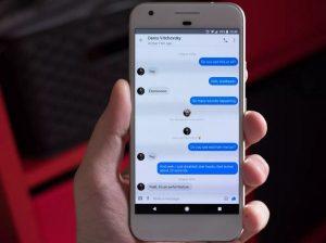 cara menghapus pesan messenger