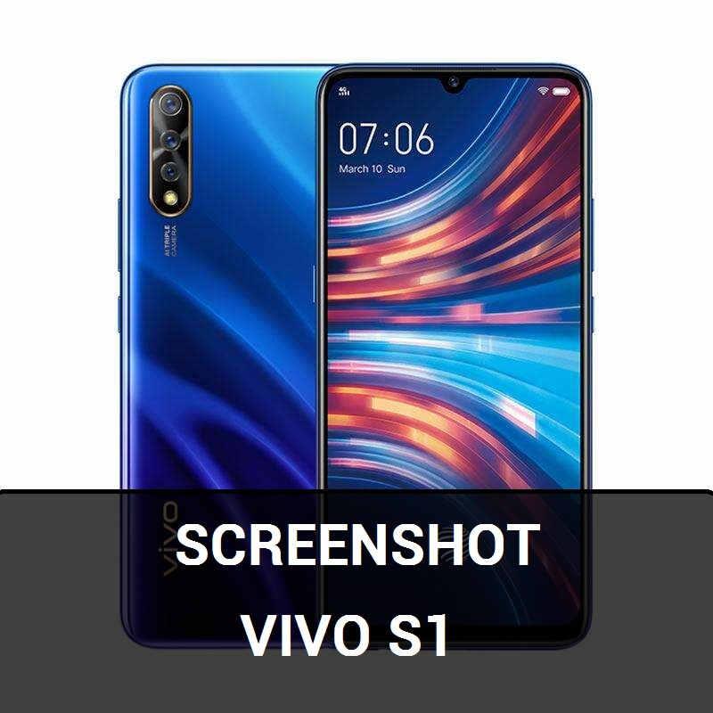 screenshot vivo s1