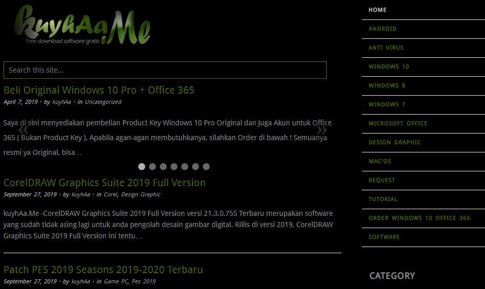 cara download game di laptop windows 7