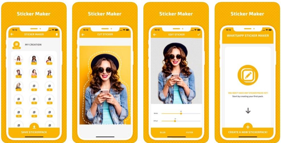 cara membuat stiker wa di iphone