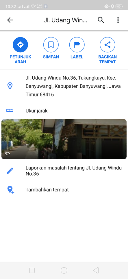cara menandai lokasi google maps