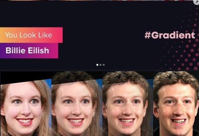 aplikasi gradient you look like
