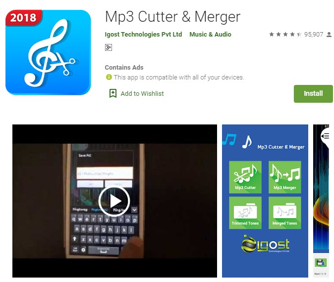 aplikasi pemotong lagu mp3 android