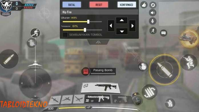 settingan call of duty mobile