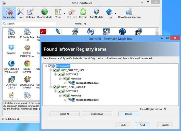 uninstall aplikasi windows 8
