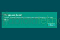 Aplikasi Tidak Bisa Dibuka di Windows 7