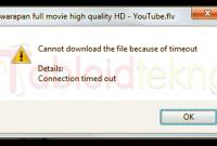 IDM yang Tidak Bisa Download