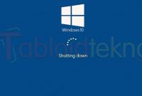 Windows 10 Tidak Bisa Shutdown
