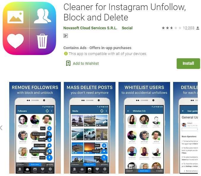 cara hapus foto instagram sekaligus