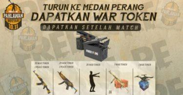 cara mendapatkan token ammo box peace emblem ff