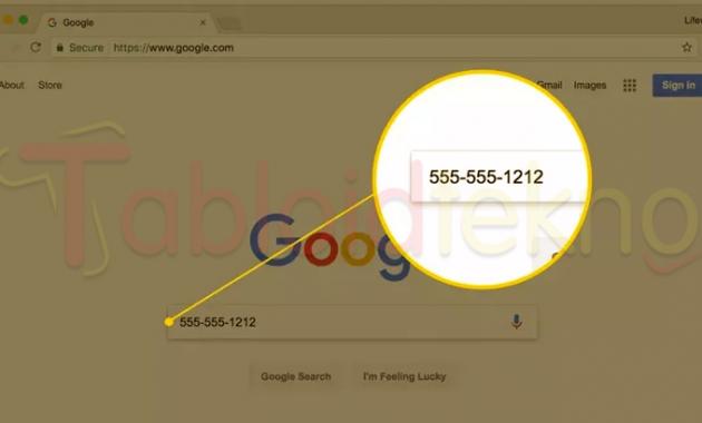 Cara Mengetahui Nomor Hp Seseorang