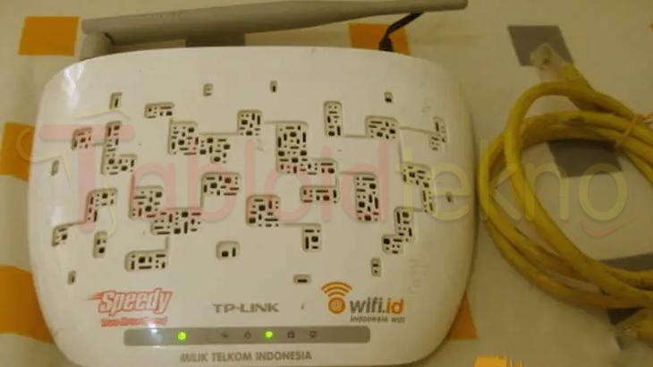 Cara Mengetahui Password WiFi Speedy