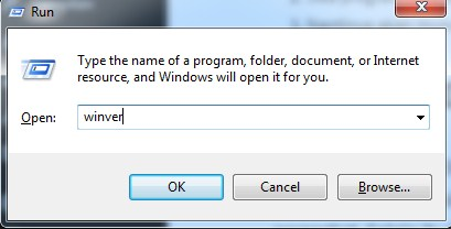 cara lihat versi windows 10