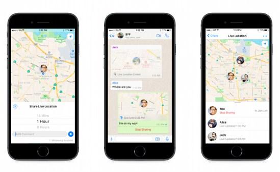 cara melacak lokasi pengguna whatsapp
