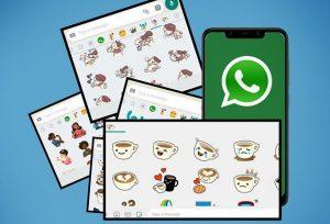 cara menambahkan stiker di whatsapp