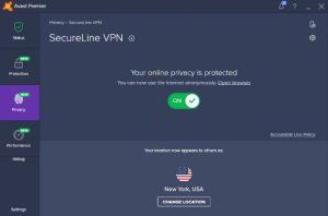 cara mengaktifkan secureline vpn avast