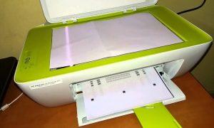 reset printer hp 2135