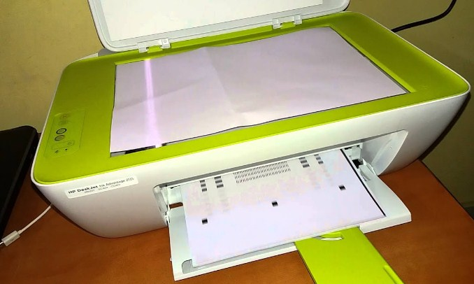 reset printer hp 2135