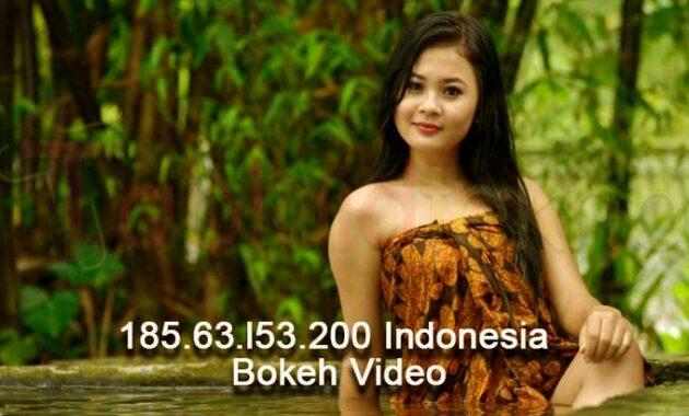 185 63 l53 200 Indonesia Bokeh Video